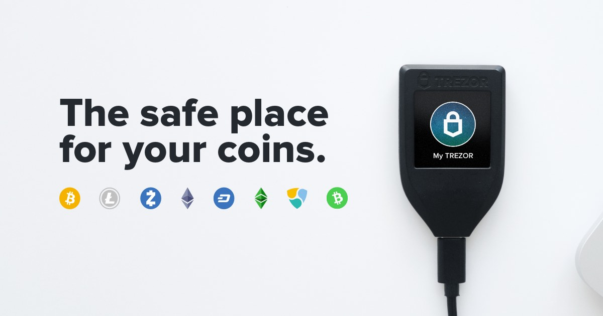 420de619a7 Trezor Hardware Wallet (Official)
